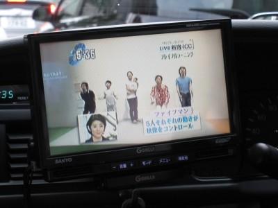 ファイブマンも。右端の上田先生、大ハッスル。